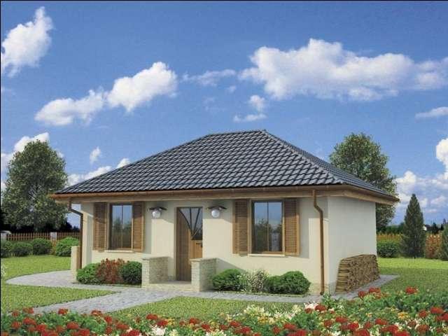 Проект на сглобяема къща Alegra 54 м2