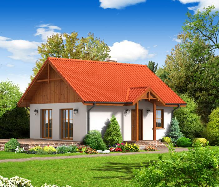 Проект на сглобяема къща Calvinia 68 м2