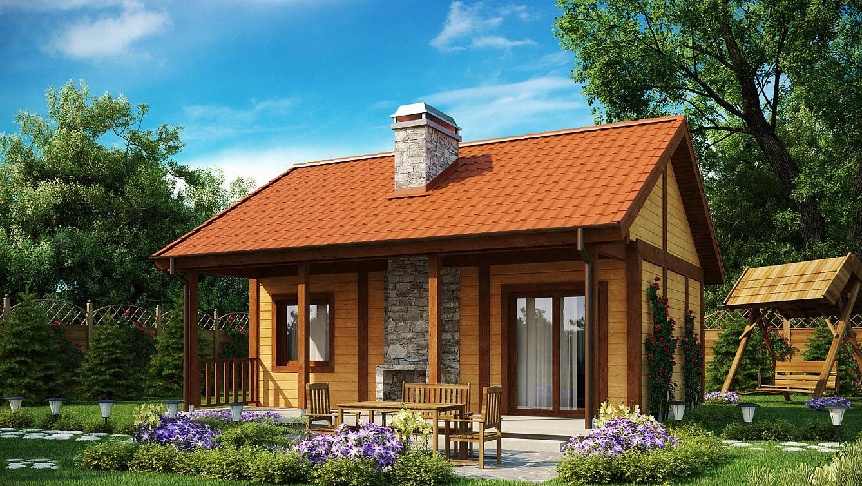 Проект на сглобяема къща Ilaria 51м2