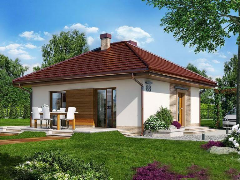 Проект на сглобяема къща Izabelle 64 м2