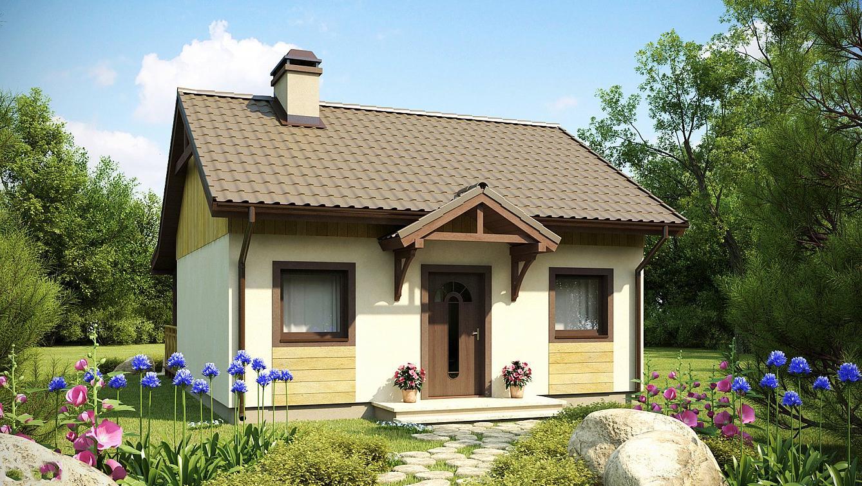 Проект на сглобяема къща Perlita 44 кв.м.