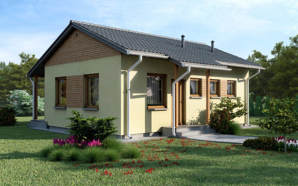 Проект на сглобяема къща Reyna 62 м2