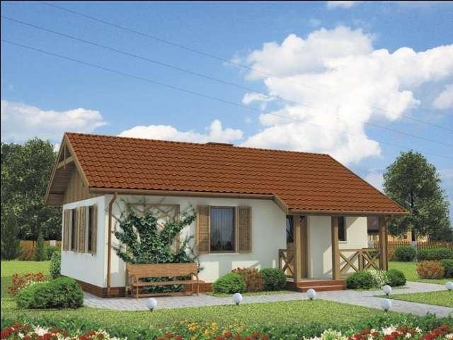Проект на сглобяема къща Simplita 60 м2