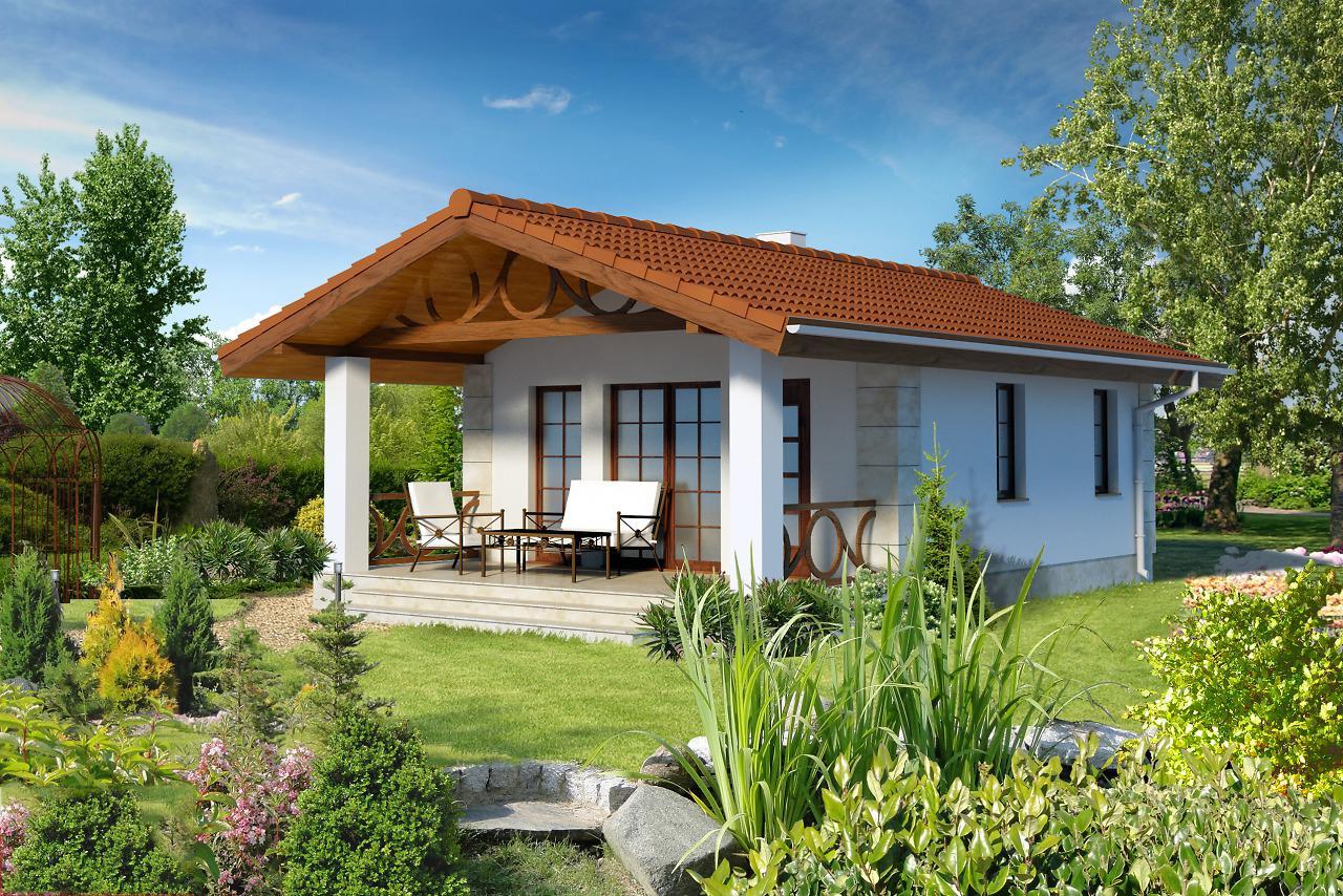 Проект на сглобяема къща Teofila 46 m2