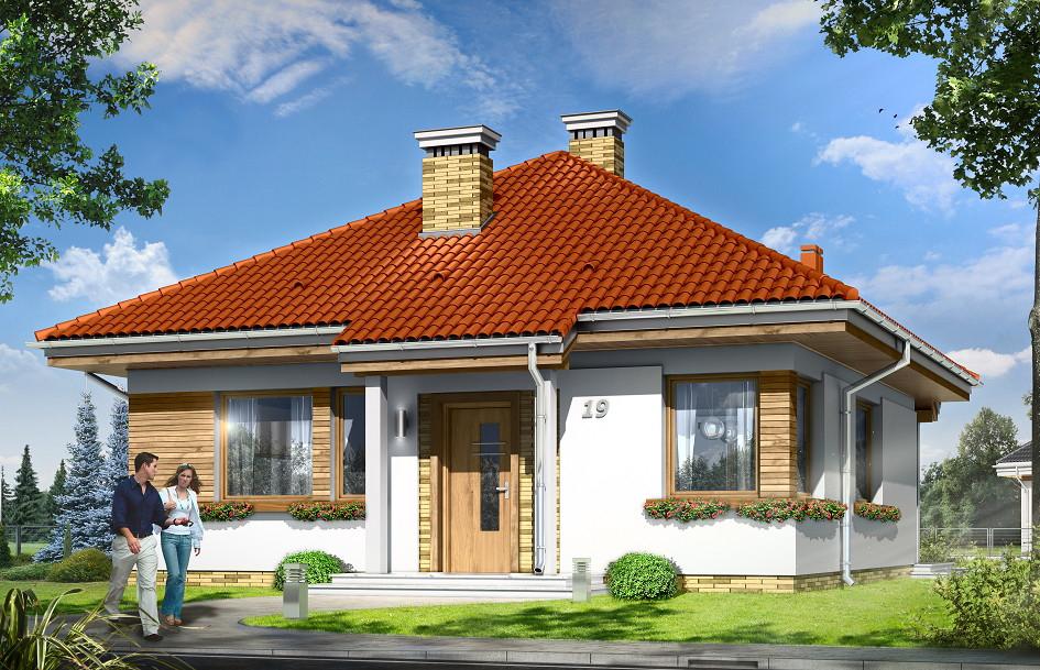 Проект на сглобяема къща Vitalia 73 м2