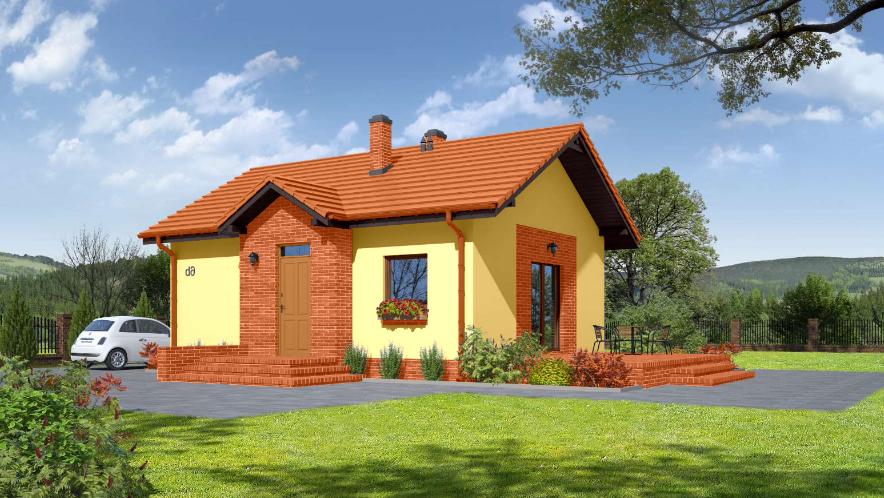 Проект на сглобяема къща Graziella 69 м2