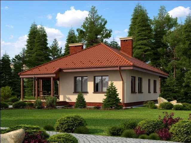 Проект на сглобяема къща Arianna 97 м2