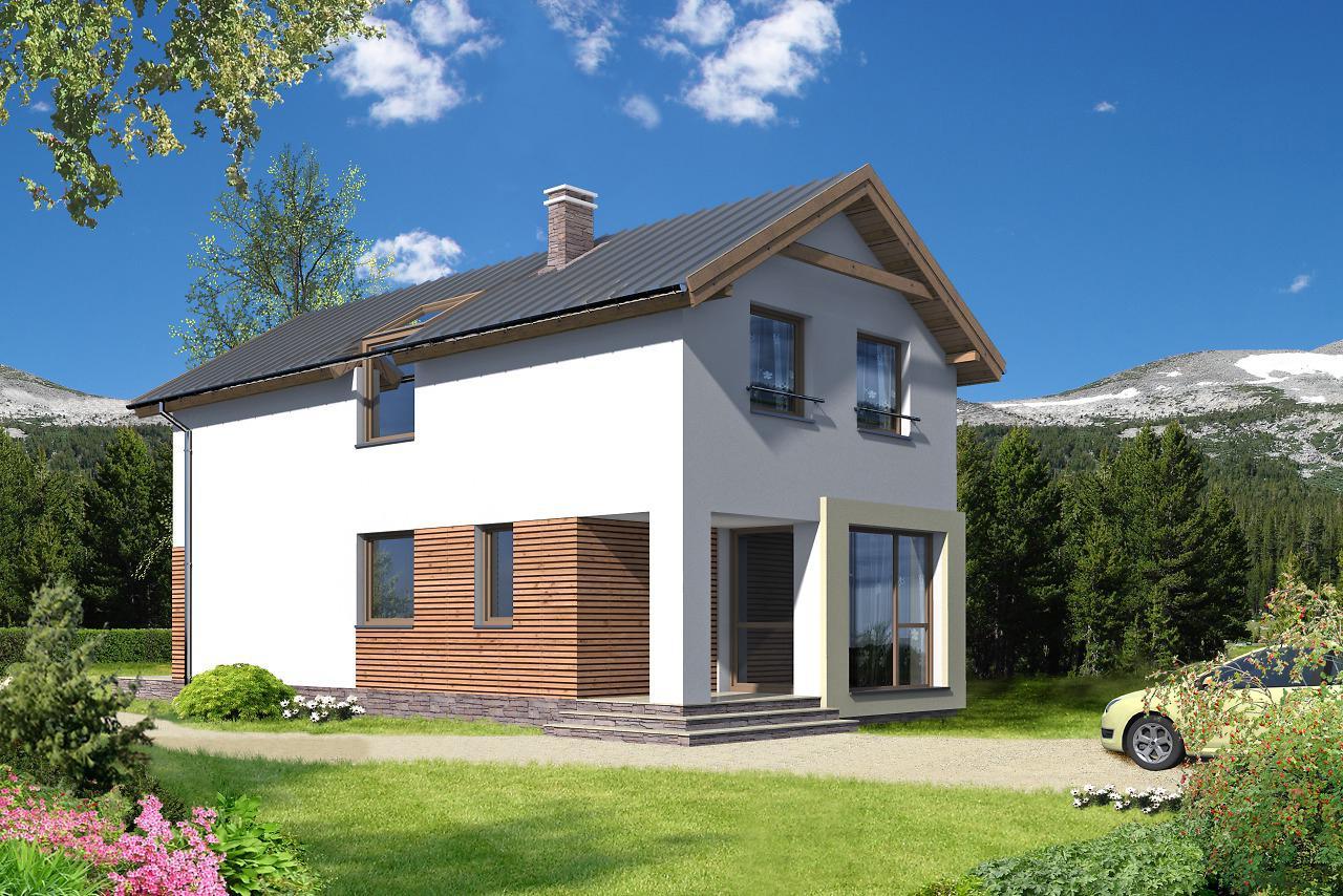 Проект на сглобяема къща 119 кв.м.