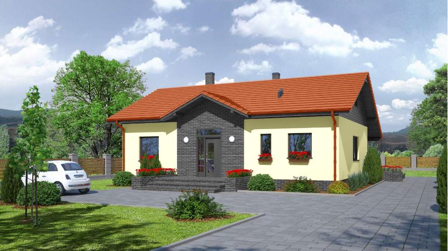 Проект на сглобяема къща 122 кв.м.