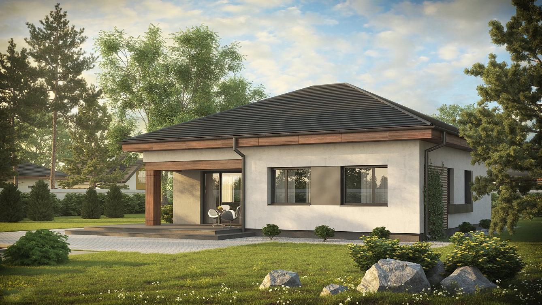 Проект на сглобяема къща 116,8 кв.м.