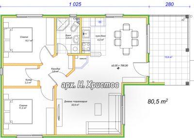 hubav dom 81-plan