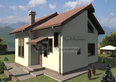 Сглобяема къща Хубав дом 125 м2-3