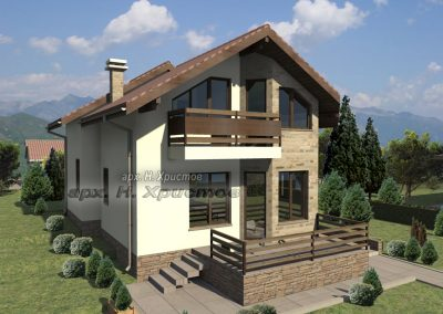Сглобяема къща Хубав дом 125 м2-1