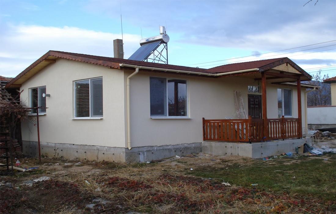 1 завършена сглобяема къща Лидия 80 кв.м.