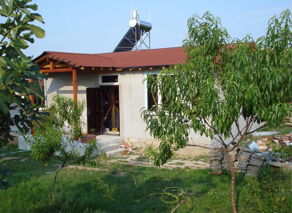 4 Соларен бойлер на сглобяема къща Лидия 80 кв.м.