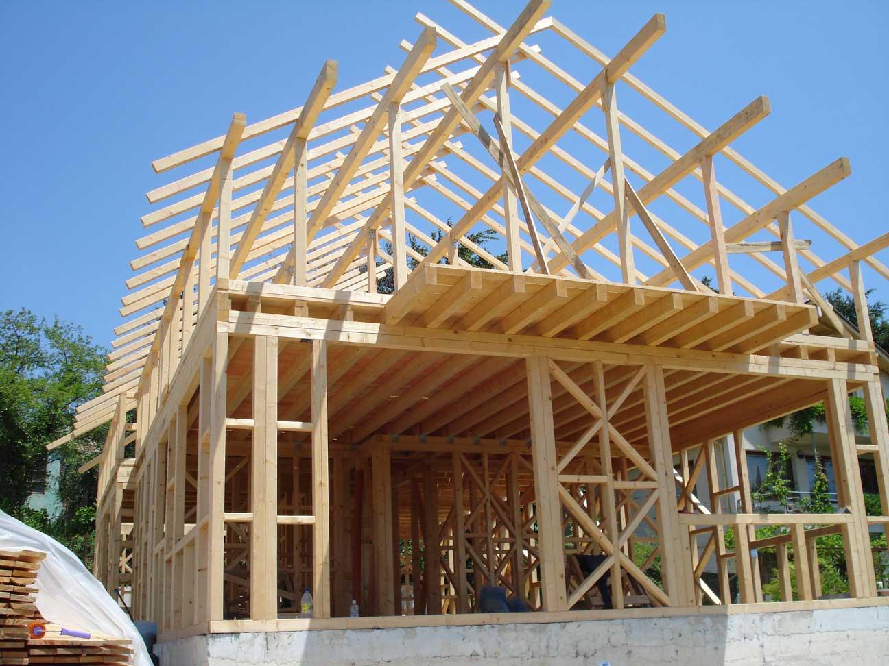 5 Изградена скелетно-гредова конструкция на къща в гр. Варна 231 м2