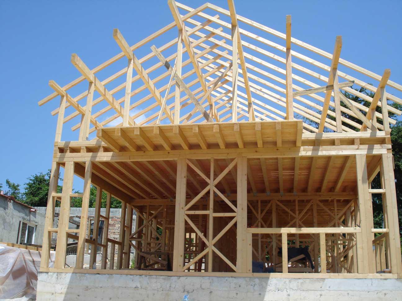 6 Скелетно-гредова конструкция на къща в гр. Варна 231 м2