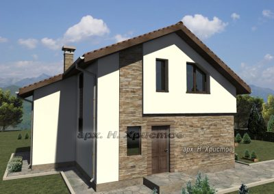 Сглобяема къща Хубав дом 130 м2