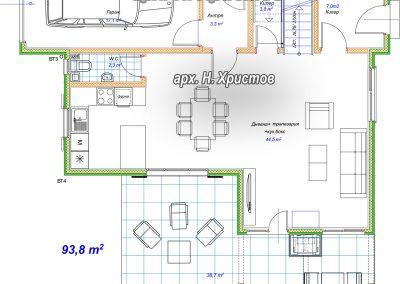 Хубав дом 180m2 - 1 етаж