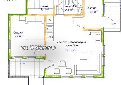 razpred 50 m2