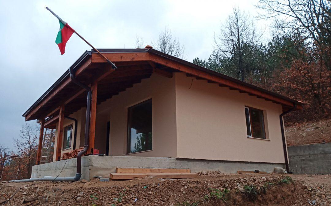 Построена сглобяема къща Хубав дом 66,70 кв.м.
