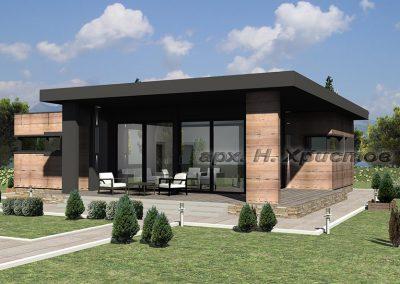 Проект на къща 100 кв.м.