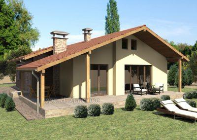 Проект на къщи 100 и 110 кв.м.