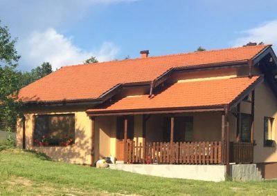 Построена къща с три спални 73,60 кв.м.