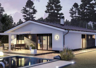 """Проект на къща """"Хубав дом"""" 162 кв.м."""