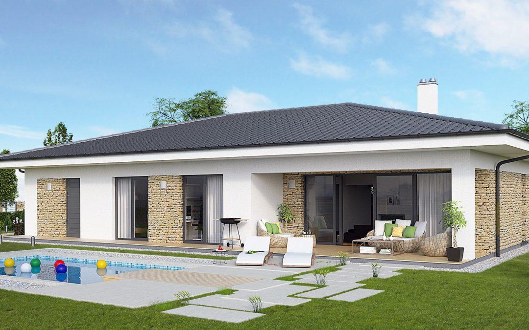 """Проект на къща """"Хубав дом"""" 160 кв.м. + 29 кв. м. веранда"""