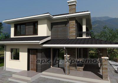 Проект на къща Хубав дом 164 кв.м.