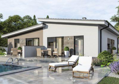 Проект на къща Хубав дом 223 кв.м.