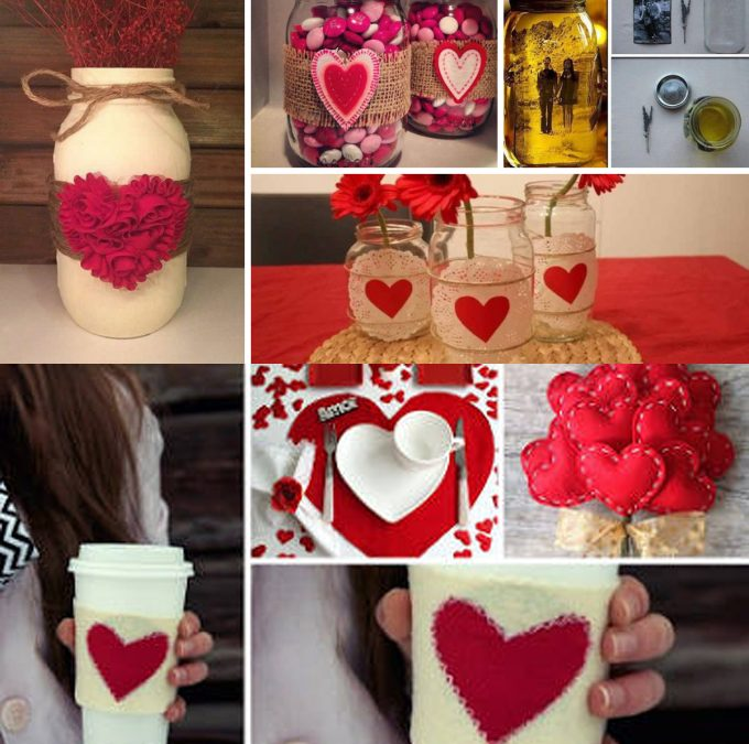 """20 идеи за украса за Свети Валентин, тип """"Направи си сам"""""""