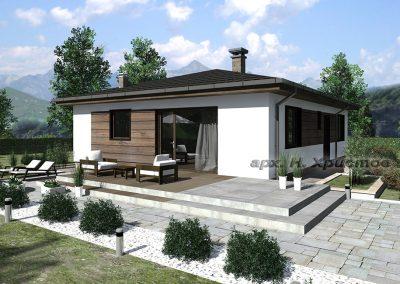 Проект на къща 107 кв.м.