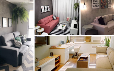 Съвети за декориране на малки дневни стаи