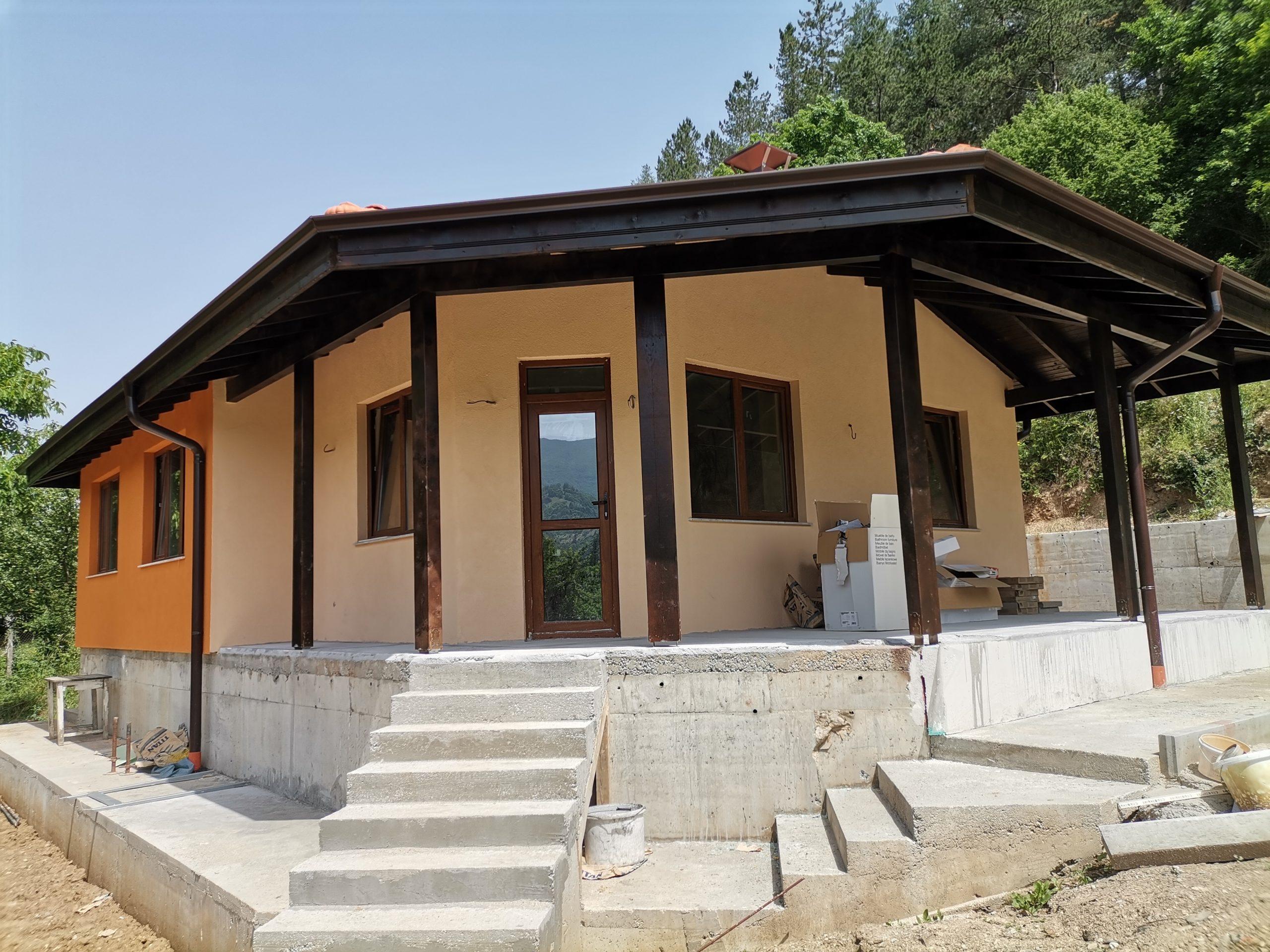 Построена къща 81 м2